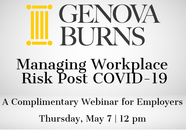 Managing Workplace Risk Post COVID-19
