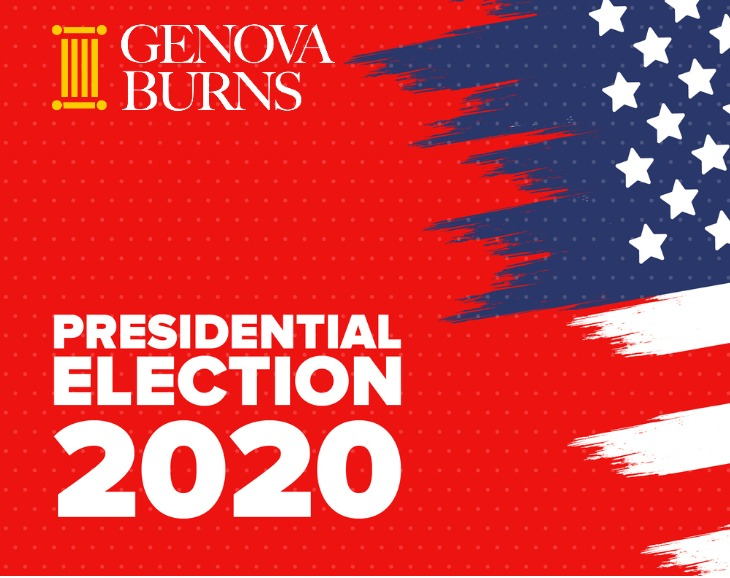 American flag Presidential Election 2020
