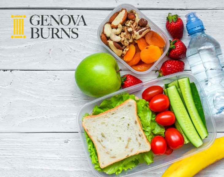 Genova Burns is Proud to Support the FeedNJ Program