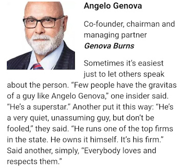 Angelo J. Genova Named to ROI-NJ 2019 Influencers Power List - Lawyers