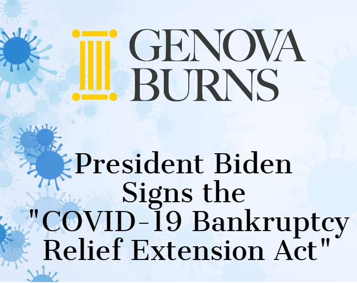 "Image for President Biden Signs the ""COVID-19 Bankruptcy Relief Extension Act"""
