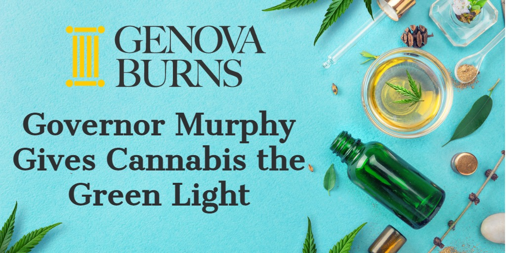 Image for Governor Murphy Gives Cannabis the Green Light