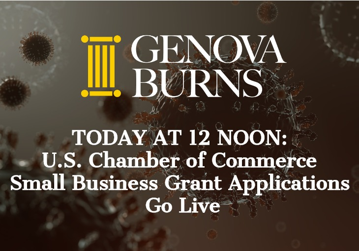 TODAY AT 12 NOON: U.S. Chamber of Commerce Small Business Grant Applications Go Live