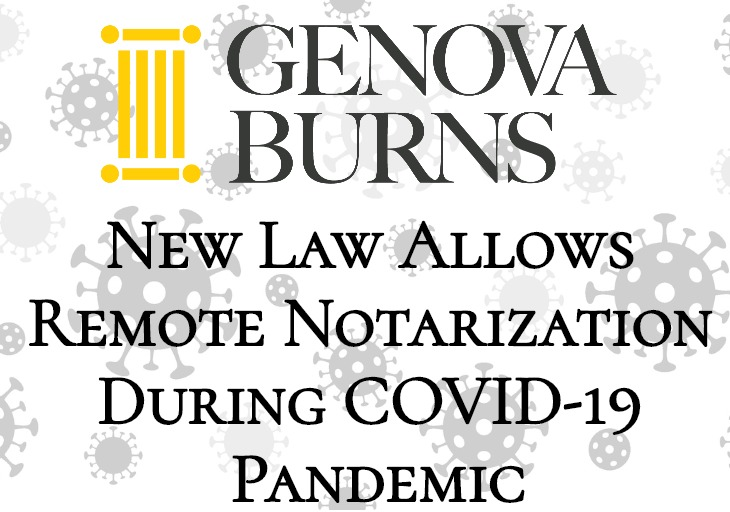 Image for New Law Allows Remote Notarization During COVID-19 Pandemic