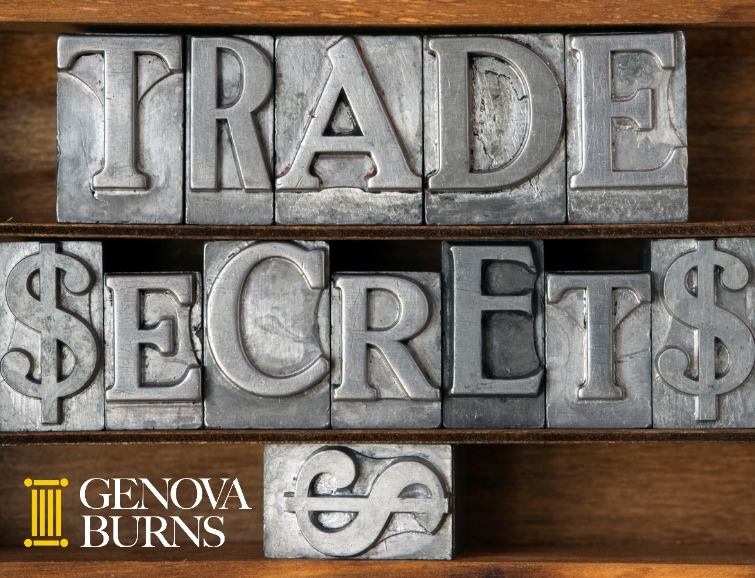 Trade secrets in typeset